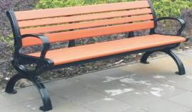 实木休闲椅制造商-塑木园林椅定制企业-全国送货上门