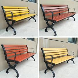 校园休闲椅-公园椅制造商-户外休闲长椅货源
