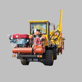 940型护栏打桩机可用于公路高速等地施工打桩机