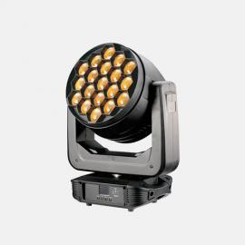 盈立莱JTLLED19x40W蜂眼调焦摇头演出设备舞台灯