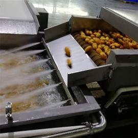 果蔬清洗机气泡清洗机红薯土豆毛辊清洗机白菜芒果喷淋清洗机