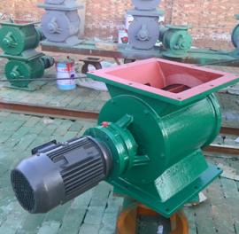 星型卸料器插板阀螺旋输送机配套使用卸灰装置