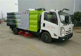 3吨清扫扫路车 道路吸尘清扫车 解放9方洗扫车