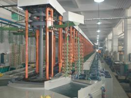 全自动垂直升降电镀生产线