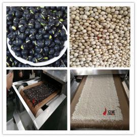 黄豆烘焙机 黄豆微波烘焙熟化设备