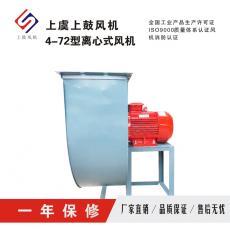 上鼓化纤行业专用离心式通风机4-72-4A 5.5kw