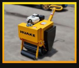 华科HK-450小型手扶单轮压路机