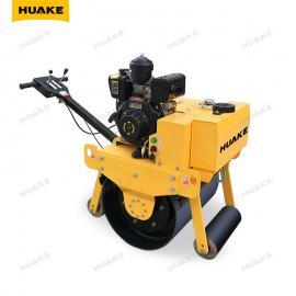 华科HK-700 小型手扶单轮压路机 家用沟渠回填