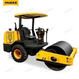 华科HK-3500小型 座驾压路机 道路 体育场平整 沟渠回填