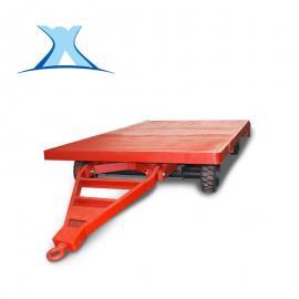 五金搬运1吨牵引叉车拖车 牵引杆平板拖车设计
