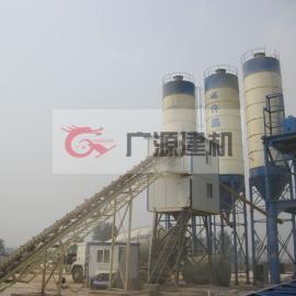 成套工程机械设备HZS60混凝土搅拌站广源建机