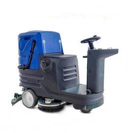 小型双刷驾驶式洗地机洁威科W110B