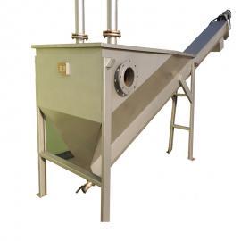 不锈钢无轴螺旋式砂水分离器 优质砂水分离器