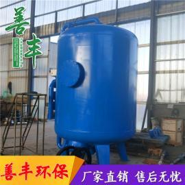 善丰节能高效活性炭过滤器 不xiu钢过滤罐 屠宰活性炭过滤罐