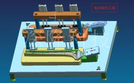 深隆ST-GZ9126二维三维焊接平台工装夹具 定制自动化夹具 治具