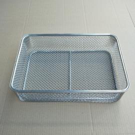 不锈钢清洗灭菌筐,不锈钢网筐,消毒筐生产