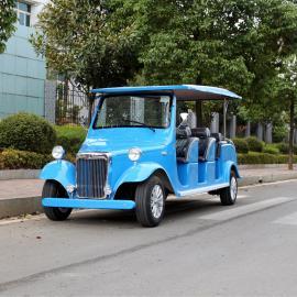 12座电动观光老爷车,的士蓝,可定制