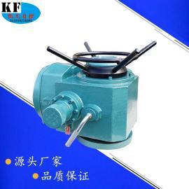 户外型电动执行器 DZW120多回转电动阀门执行器 闸阀电动装置