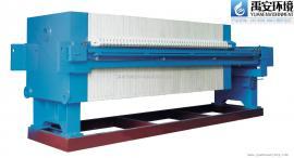 电镀废水污泥减量化专用板框压滤机XmYZ50/800-UB全自动运行