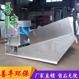 冶金污泥处理设备 不锈钢污泥脱水机 善丰新型叠螺污泥脱水机