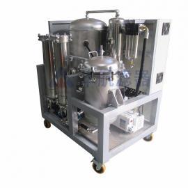 全不锈钢滤油机 电厂润滑油净油机 真空滤油车