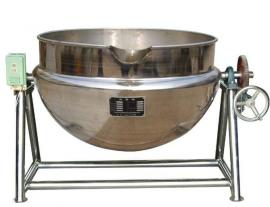 电加热煮汤锅|蒸汽可倾式搅拌夹层锅立式不锈钢夹层锅厂家