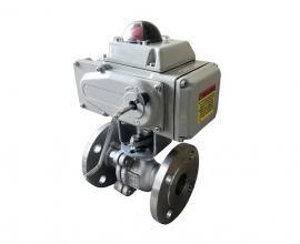 VQ941TC+电动球阀+电动调节阀+V型陶瓷球阀+调节球阀