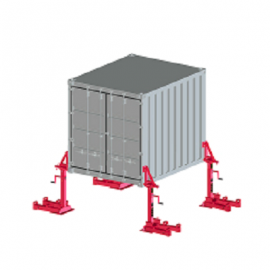 Haacon齿条千斤顶Container support device 3108.32