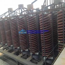 螺旋选矿机 洗煤螺旋溜槽 1500选金设备