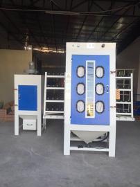 环保型玻璃自动喷砂机