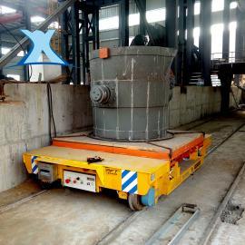 百特智能运输重型模具搬运车道轨电动平车