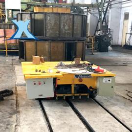 工地运输电缆卷筒轨道搬运车20吨报价实惠 平板推车
