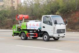 凯马蓝牌洒水车园林绿化喷洒车工地除尘喷雾抑尘车