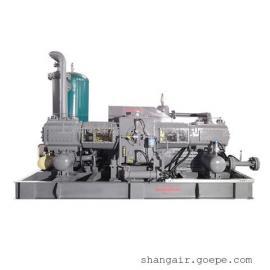 氮气无油增压机