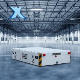 百特智能自动化生产线包胶轮无轨电车5吨 无线遥控