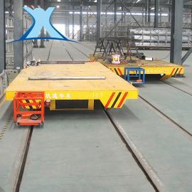 小型合金钢包冶炼轨道输送车 蓄电池轨道平车BXC200T冶金平车