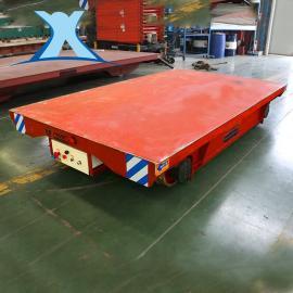 百特智能铝板带电动搬运车 铁路施工放缆车 高压环件轨道平板车非标定制