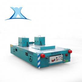百特智能BWP30T电动平车 无轨运输水泥构件 配转向灯无轨模具车