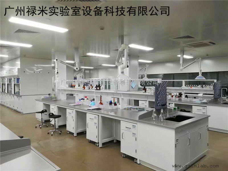 禄米实验室全钢边台实验台 全钢实验边台 全钢实验台