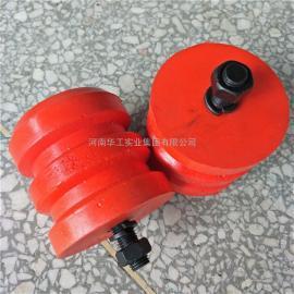 国标JHQ-A-13螺杆式聚氨酯缓冲器 行车红色缓冲块 起重机防撞器