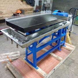 LY试验室小摇床小砂金选矿摇床 实验室选矿设备摇床