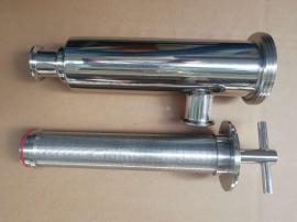 卫生级麦汁过滤器,不锈钢麦汁过滤器304 316L,角汁麦汁过滤器