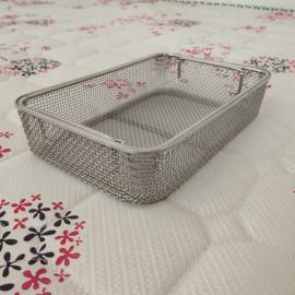 优质不锈钢消毒筐产品展示,图a不锈钢网筐网篮现货