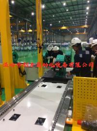曳引机装配线生产 电梯主机装配线 曳引机生产线合理