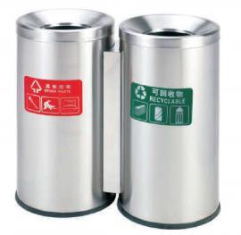 户外分类垃圾桶-景区不xiugang垃圾桶加工-精品huan卫guo壳箱