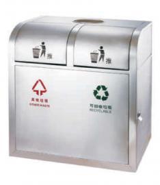 户外分类果皮箱-景区环卫垃圾桶-不锈钢垃圾桶加工企业