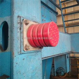 JHQ-C-11起重机聚氨酯缓冲器带铁板 行车防撞器 电梯天车防撞块