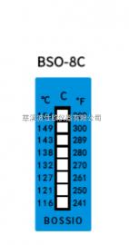 波仕欧BSO-8C八格测温纸116~154℃高铁动车轴承温度试纸50*18mm
