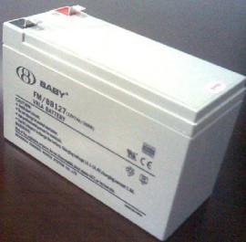 金牌代理鸿贝蓄电池FMBB127 12V7AH