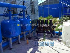 【江河环保】全自动砂石过滤器选型200m3/h 叠片式过滤器销售